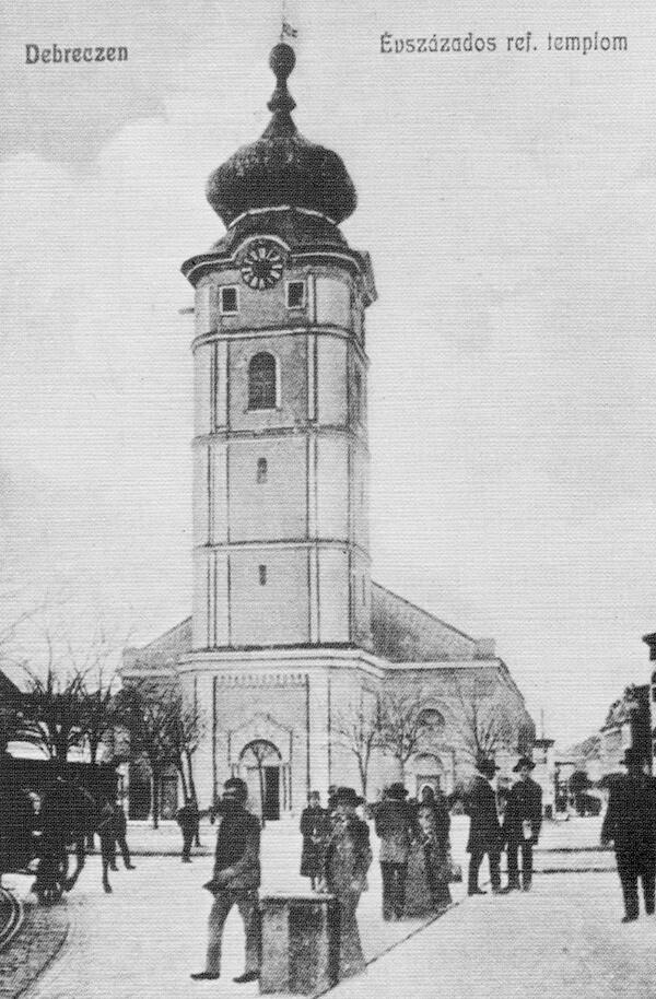 A Kistemplom 1900-ban